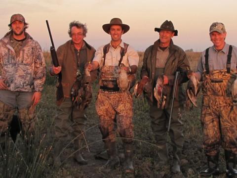 Erfolgreiche Entenjagd in Argentinien - Interhunt - jagen weltweit