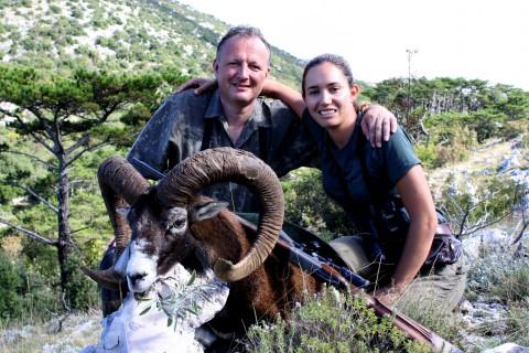 Muffelwidder Jagd in Kroatien - Interhunt - jagen weltweit