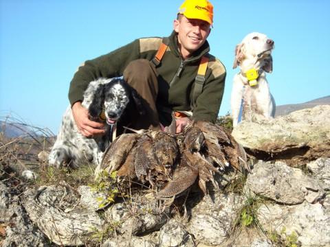 Erfolgreiche Schnepfenjagd - Interhunt - jagen weltweit