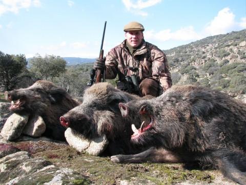 Jagd auf starke Keiler in der Türkei - Interhunt - jagen weltweit