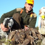 Successful Woodcock hunter in Croatia - Interhunt - hunting worldwide