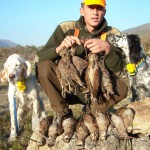 Lucky bird hunter with Woodcock in Croatia - Interhunt - hunting worldwide