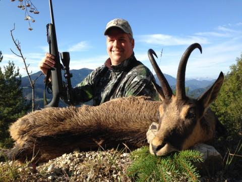 Gamsjagd in Österreich - Interhunt - hunting worldwide
