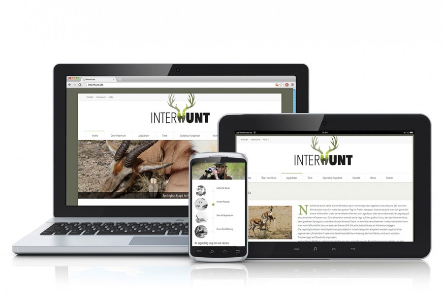 interhunt.com | Neue Website